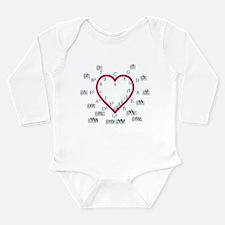 The Heart of Fifths Long Sleeve Infant Bodysuit