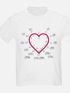 The Heart of Fifths T-Shirt