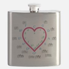 The Heart of Fifths Flask
