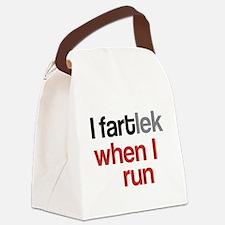Funny I FARTlek © Canvas Lunch Bag