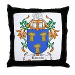 Bennis Coat of Arms Throw Pillow
