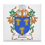Bennis Coat of Arms Tile Coaster