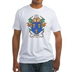 Bennis Coat of Arms Fitted T-Shirt