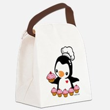 Bake a Cupcake Canvas Lunch Bag