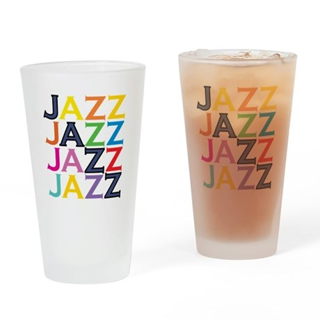 The Jazz Drinking Glass