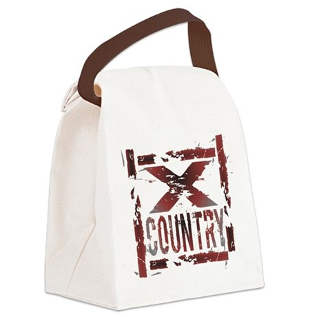 Cross Country Canvas Lunch Bag