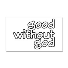 Good Without God Car Magnet 20 x 12