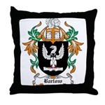 Barlow Coat of Arms Throw Pillow