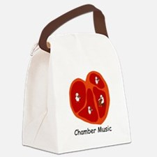 Chamber Music Canvas Lunch Bag