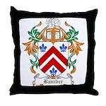 Bamber Coat of Arms Throw Pillow