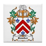 Bamber Coat of Arms Tile Coaster