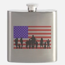 Those Who Serve LT Flask