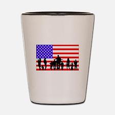 Those Who Serve LT Shot Glass