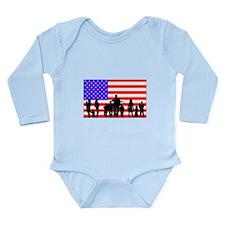 Those Who Serve LT Long Sleeve Infant Bodysuit