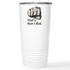 D20 How I Roll Travel Mug