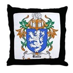 Balle Coat of Arms Throw Pillow