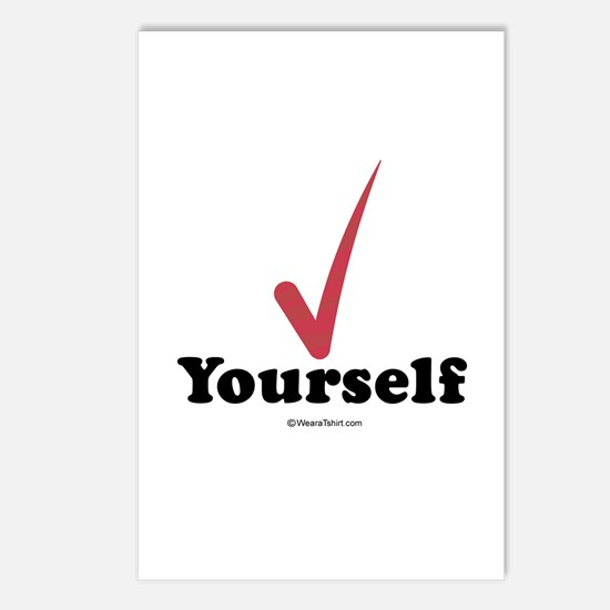 Check  yourself -  Postcards (Package of 8)