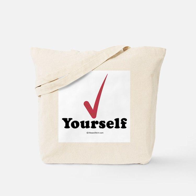 Check  yourself -  Tote Bag