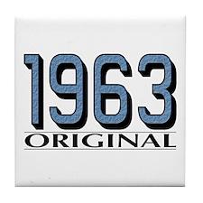 1963 Original Tile Coaster