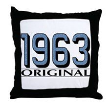 1963 Original Throw Pillow