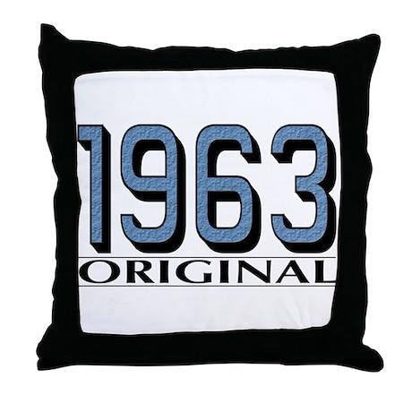 1963 Original Throw Pillow
