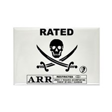 Rated Arr Rectangle Magnet