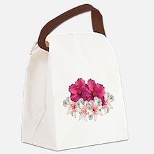 Floral Arrangement Canvas Lunch Bag