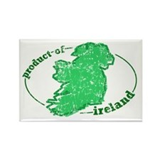 """Product of Ireland"" Rectangle Magnet"
