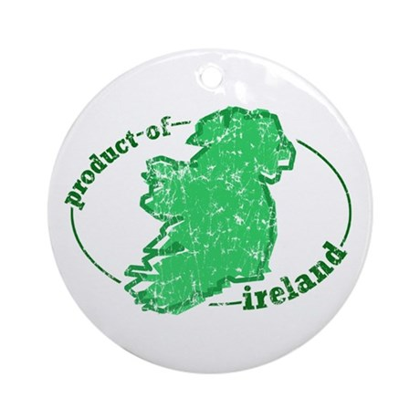 """Product of Ireland"" Ornament (Round)"