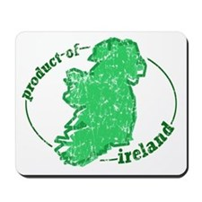 """Product of Ireland"" Mousepad"