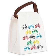 BMX Bikes Canvas Lunch Bag