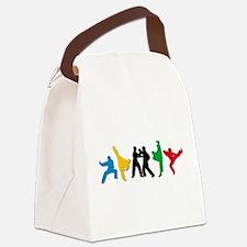 Tae Kwon Do Kicks Canvas Lunch Bag
