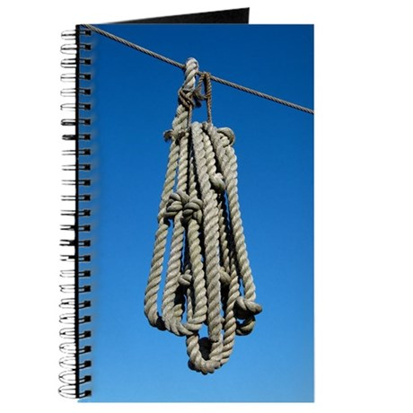 Nautical rope journal by smoojeestuff for Heavy rope for nautical use