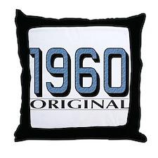 1960 Original Throw Pillow