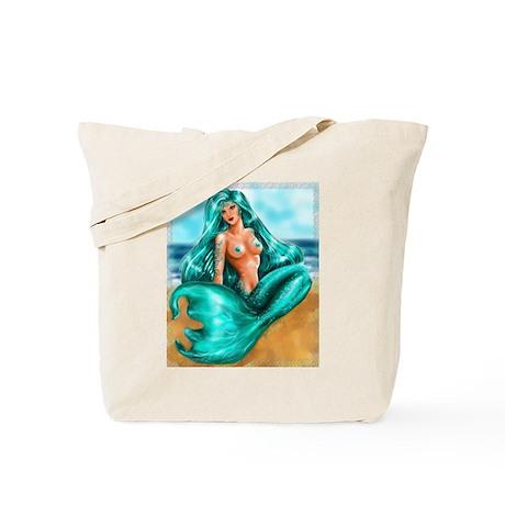 """""""Aquamarine"""" Tote Bag"""