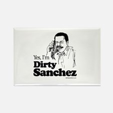 Yes, I'm dirty sanchez - Rectangle Magnet