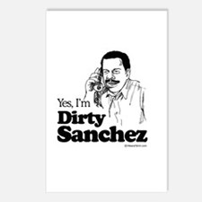 Yes, I'm dirty sanchez -  Postcards (Package of 8)