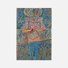 Paul Klee Rectangle Magnet