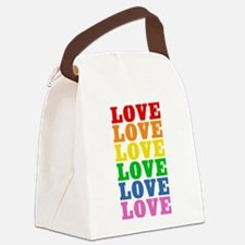 rainbow-love.png Canvas Lunch Bag