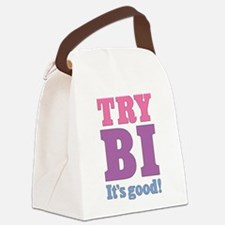try-bi_tr.png Canvas Lunch Bag