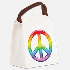 rainbow_peace.jpg Canvas Lunch Bag