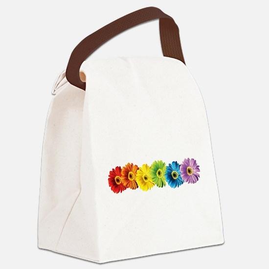 pop-daisy-rainbow.png Canvas Lunch Bag