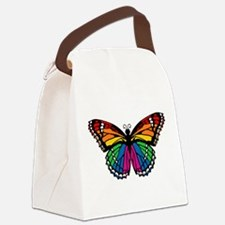 butterfly-rainbow2.png Canvas Lunch Bag