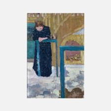 Vuillard Rectangle Magnet