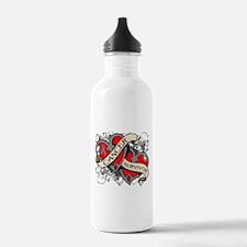 Brain Cancer Survivor Water Bottle