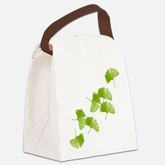 Ginkgo Leaves Canvas Lunch Bag