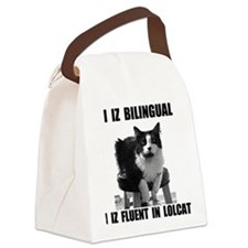 lolcat_bk.png Canvas Lunch Bag