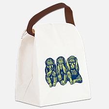 3monkeys.png Canvas Lunch Bag