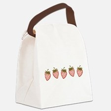 cutie-strawberries_6x18.png Canvas Lunch Bag
