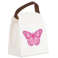 butterfly-pink.png Canvas Lunch Bag
